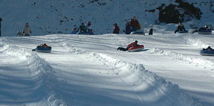 Snow Tubing at Tube World
